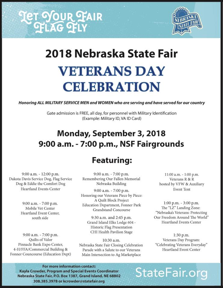 State Fair Veterans Day