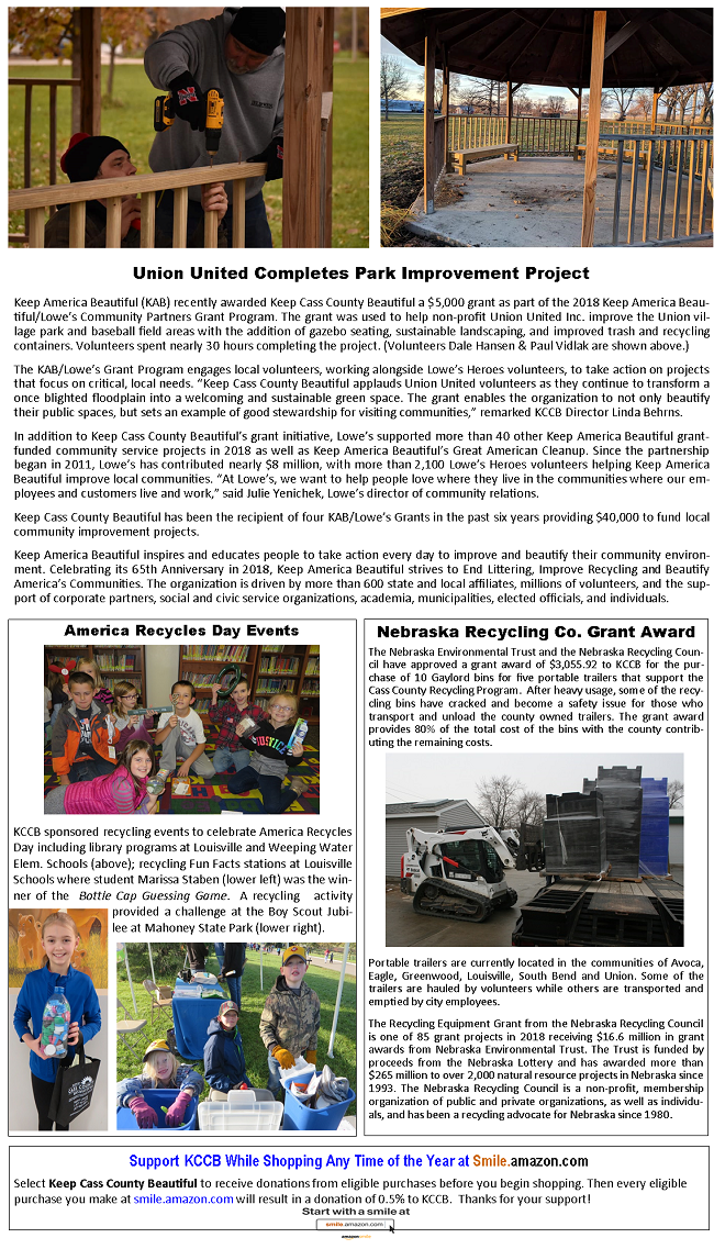 2018 Winter Newsletter Page 2